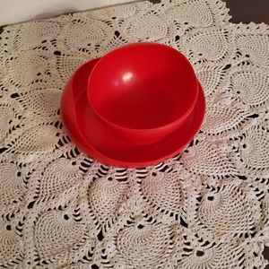 Vintage Dining - Vintage Tommee Tippee Toddler Plate and Bowl Set